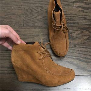 Dolce vita chestnut brown heeled